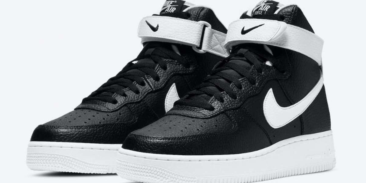 Latest Drop CT2303-002 Nike Air Force 1 High Black White for Xmas