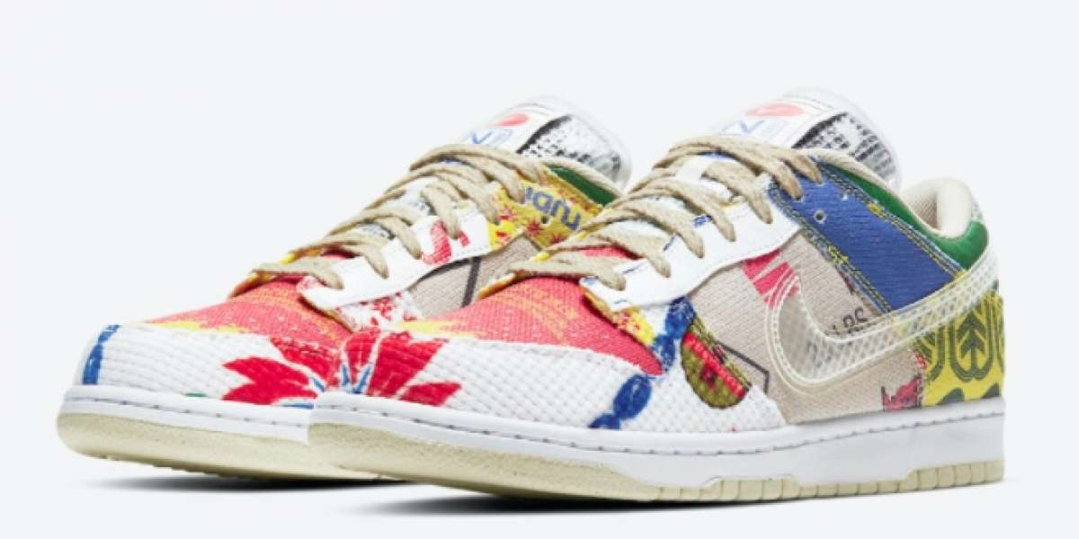 """DA6125-900 Nike Dunk Low """"City Market"""" will be officially released on March 4"""
