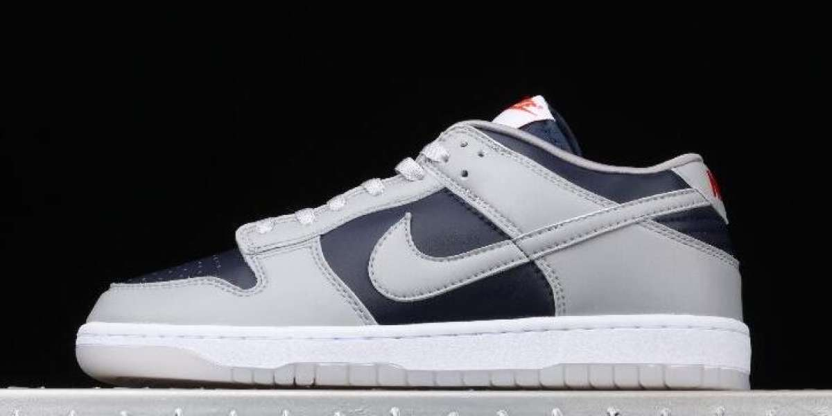 Nike Dunk Low SP Grey Dark Blue Sneakers for Cheap Sale