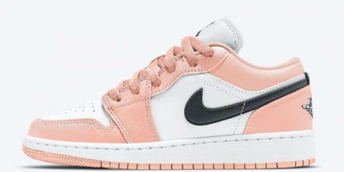Coupons for New Arrival Air Jordan 1 Low GS Light Arctic Pink