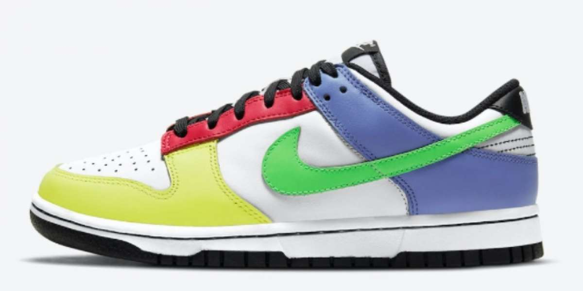 "Where To Buy Nike Dunk Low ""Multi-Color"" DD1503-106 ?"