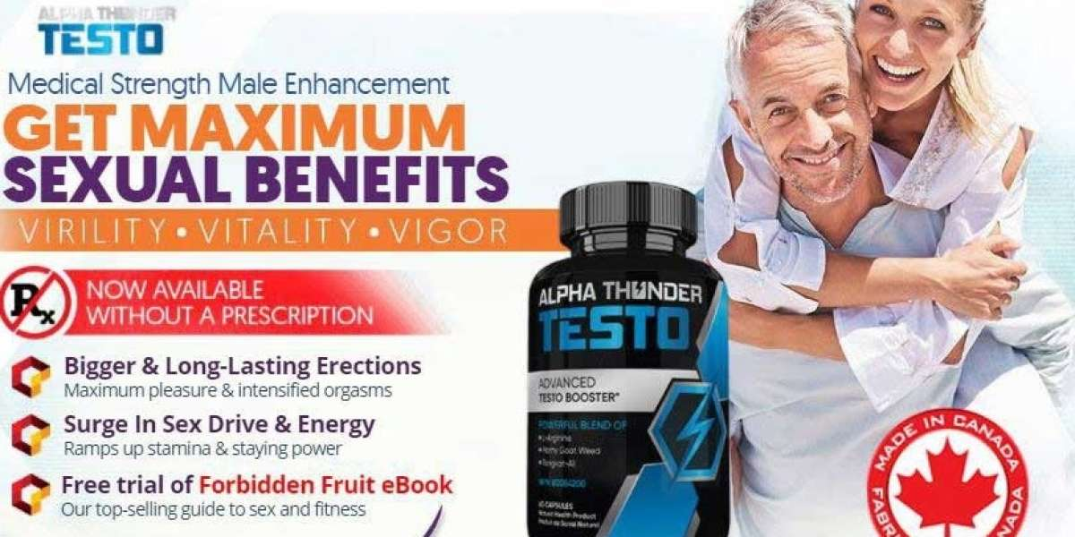 ALPHA VITAL TESTO Male Enhancement Advance Testrone Booster