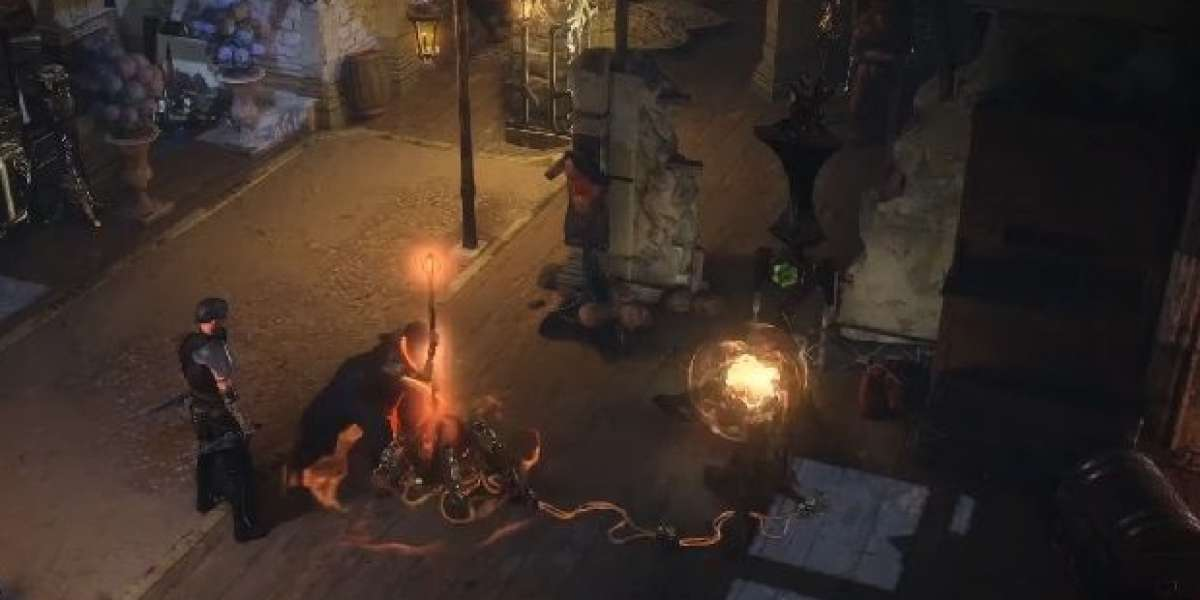 Excellent action skills in Path of Exile