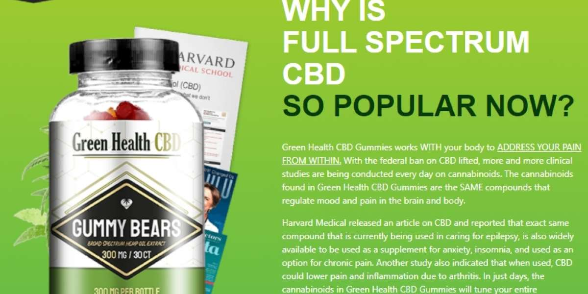 The 10 Scariest Things About Green Health CBD Gummies!!